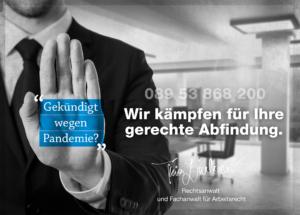 Abfindung bei Kündigung, Thies Lindacher, Fachanwalt und Rechtsanwalt für Arbeitsrecht