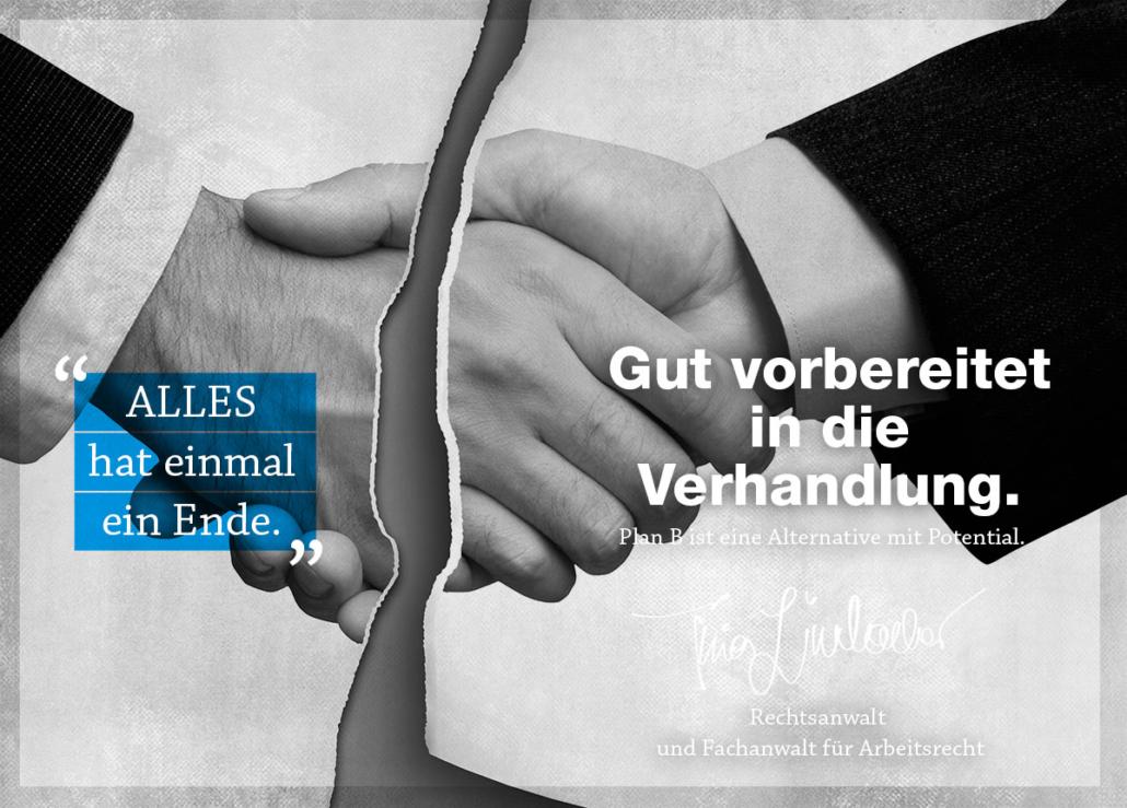 Exitstrategie für Arbeitnehmer. Lindacher Arbeitsrecht München.